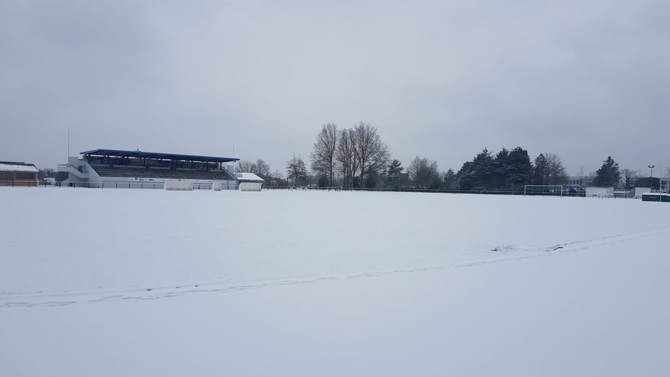 Léo Lagrange sous la neige