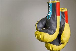 Boxe avec l'OMS de Rezé