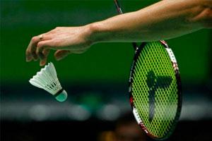 Handisport badminton avec l'OMS de Rezé